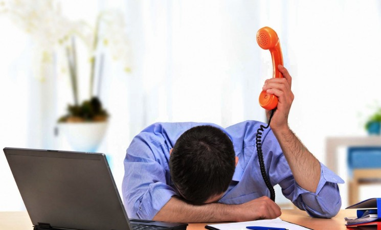 Las cargas de trabajo desmesuradas: una de las principales causas de estrés del personal del sector financiero