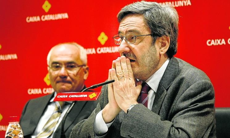 El juez impone 9,5 millones de fianza por los sobresueldos de Catalunya Caixa